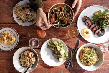 Eaux restaurant Portland, Maine