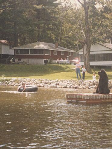 Cabins at McGrath Pond, Maine