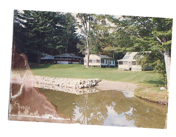 Cabins on McGrath Pond