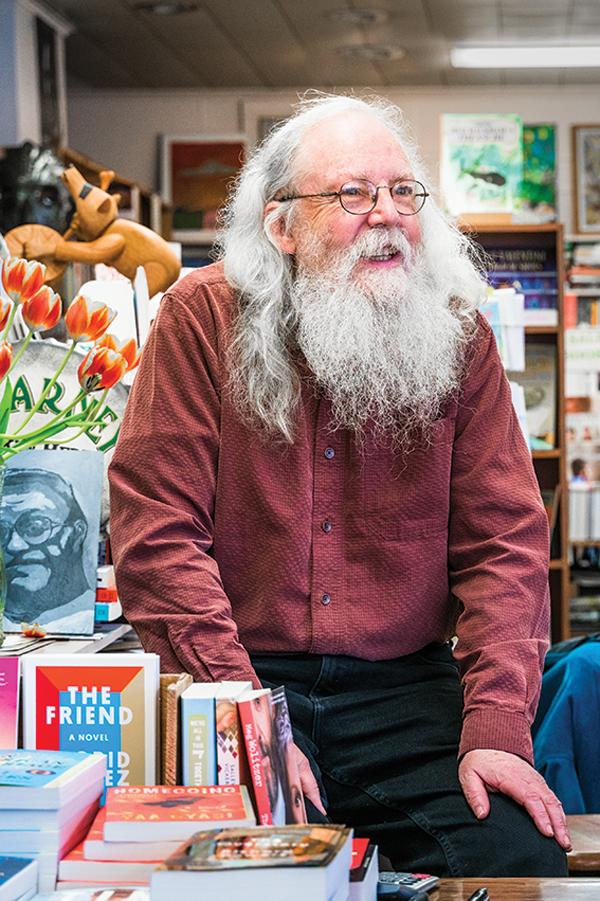 Gary Lawless, proprietor of the venerable Gulf of Maine Books in Brunswick