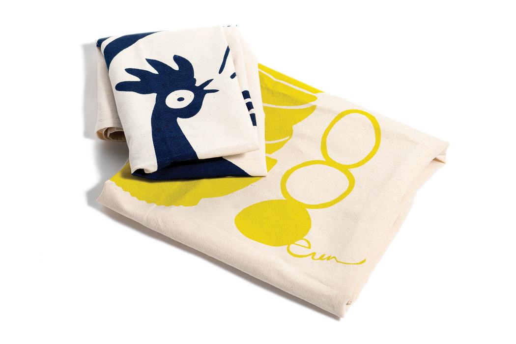 Erin Flett Chicken Tea Towels