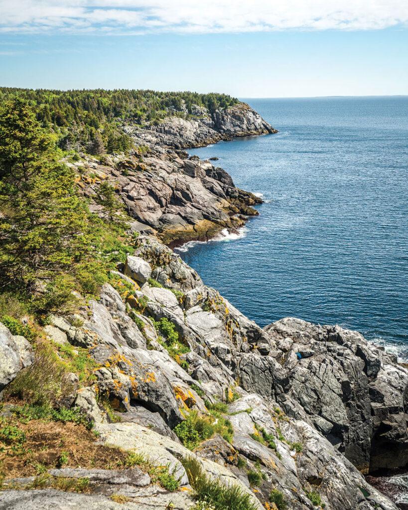Whitehead, Monhegan, Maine