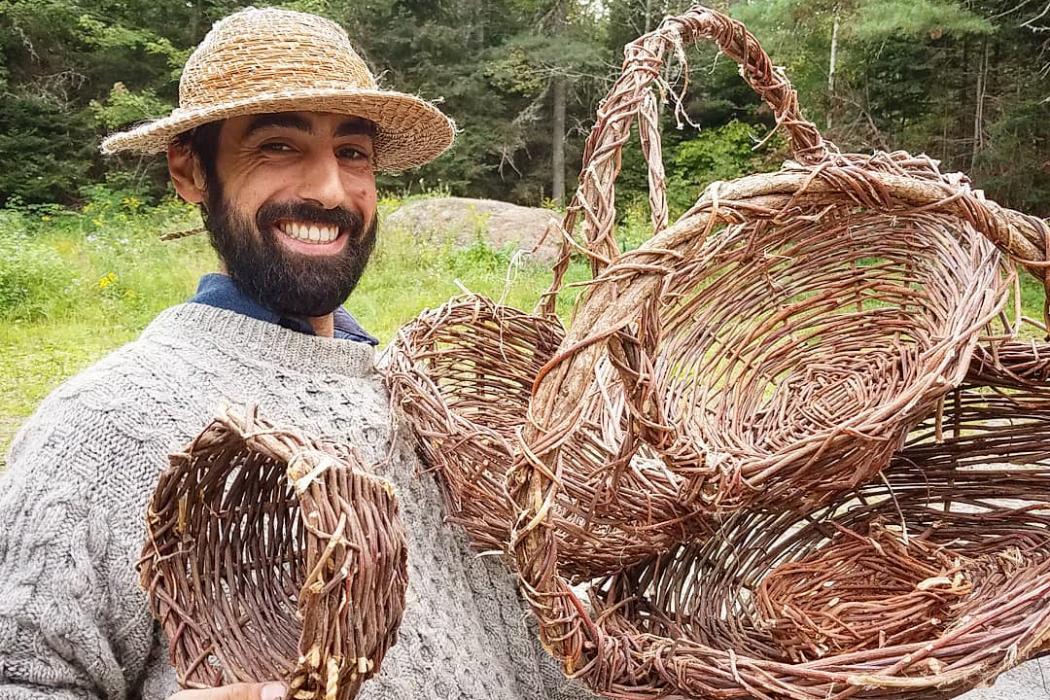 Zack Rouda, founder of the Portland nonprofit Rewild Maine