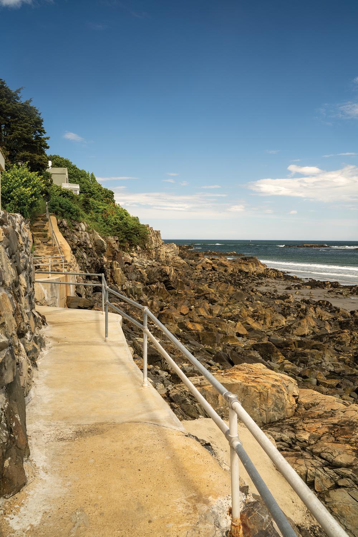 York Harbor Cliff Walk