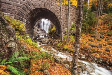 Hadlock Falls, Where in Maine October 2019