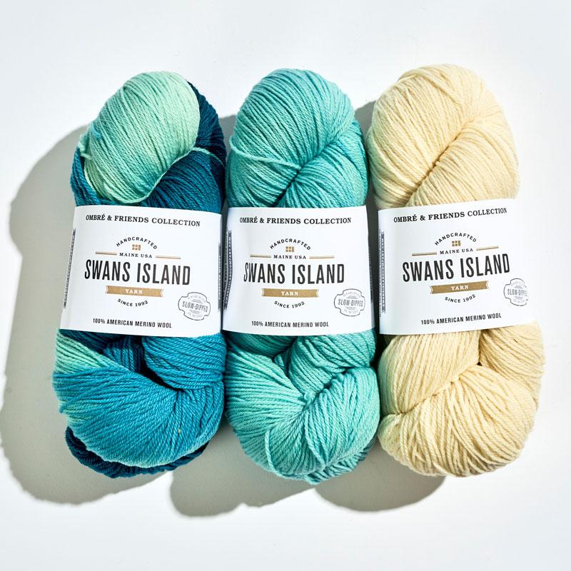 Swans Island Yarn Trio