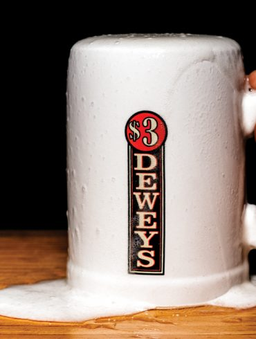 Dewey's in Portland, Maine