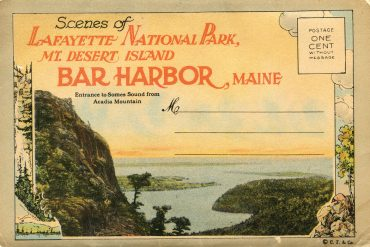 Lafayette National Park becomes Acadia National Park
