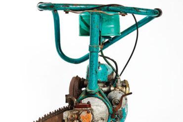 1950s Russian Druzhba chainsaw