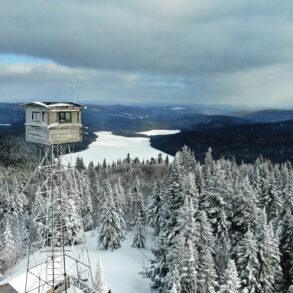 Deboullie Mountain firetower