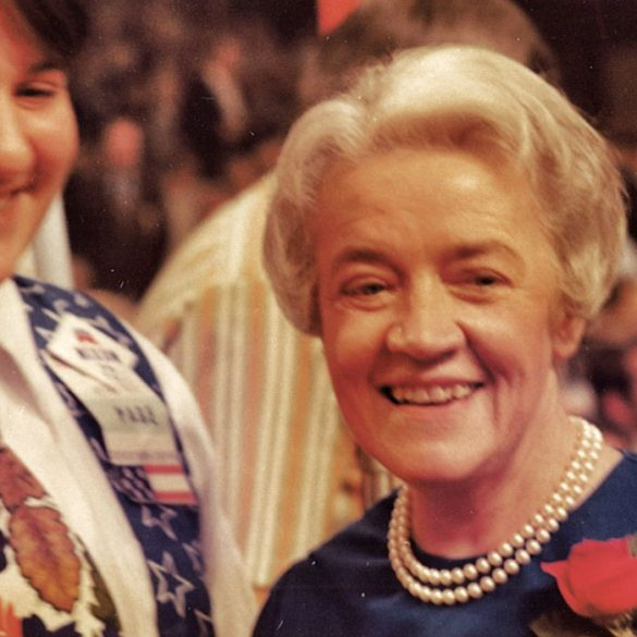 Margaret Chase Smith at the 1972 Republican National Convention