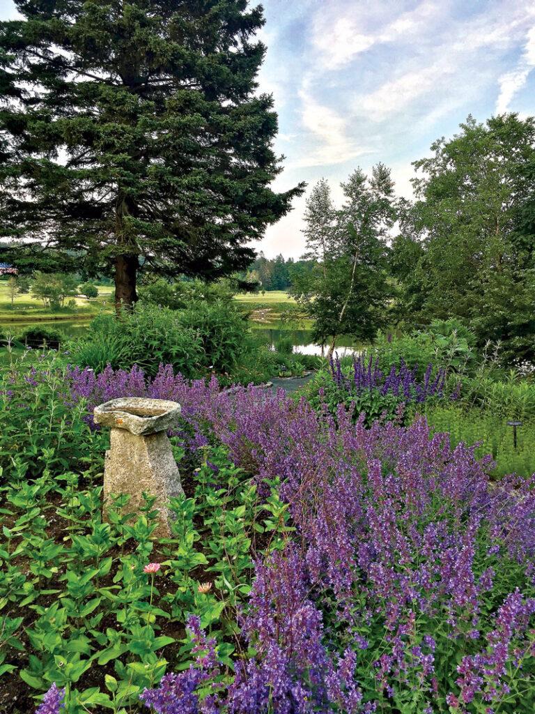 Charlotte Rhoades Park & Butterfly Garden, on Mount Desert Island
