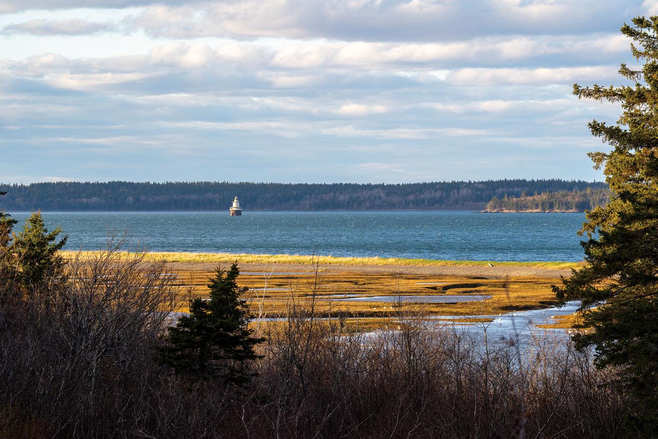David Brancaccio says Lubec Channel, Lubec, Maine, is his favorite Maine place