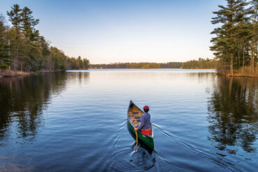 Three-Cornered Pond, Augusta, Jesse Labreck favorite Maine place