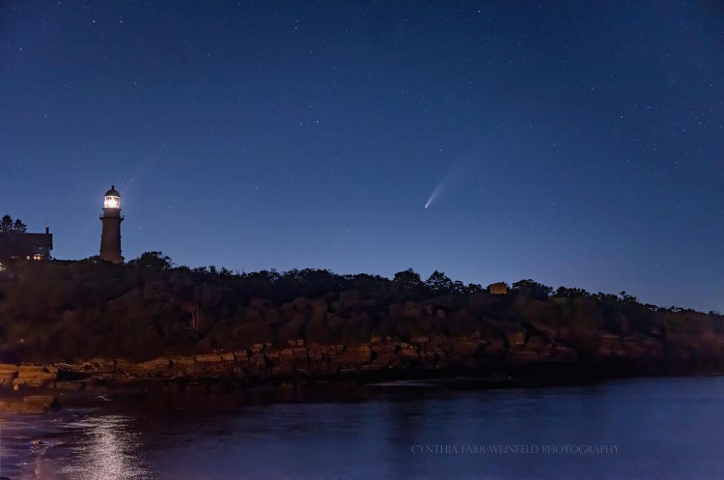 Two Lights, Cape Elizabeth, by Cynthia Farr Weinfeld