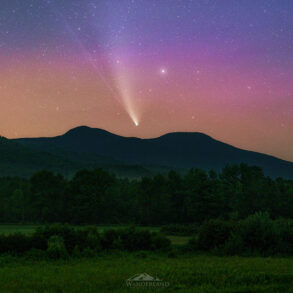 Auroras at Grafton Notch, by Dean Bugaj