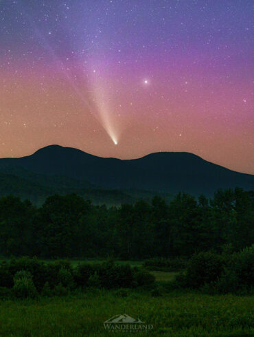 Dean Bugaj, Neowise and auroras at Grafton Notch