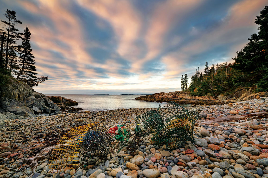Virginia M. Wright's favorite place, Little Hunters Beach, Acadia National Park
