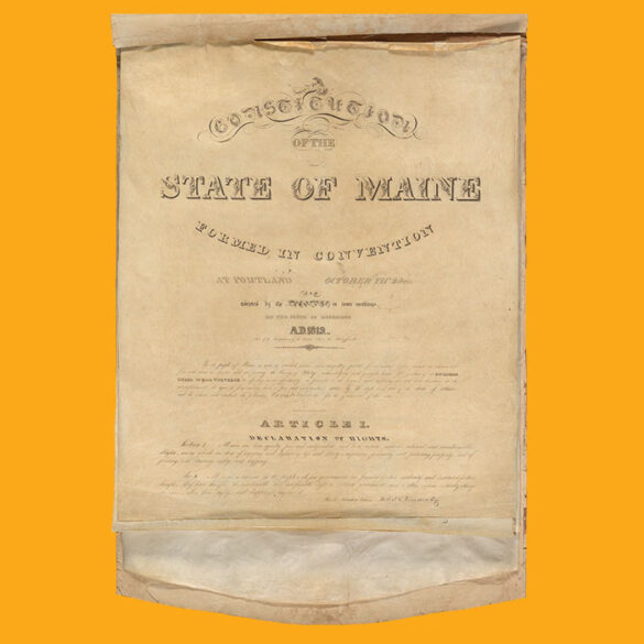 State of Maine Constitution