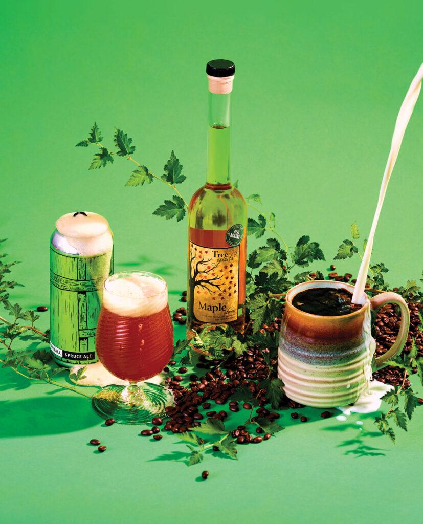 Woodsy Maine Drinks