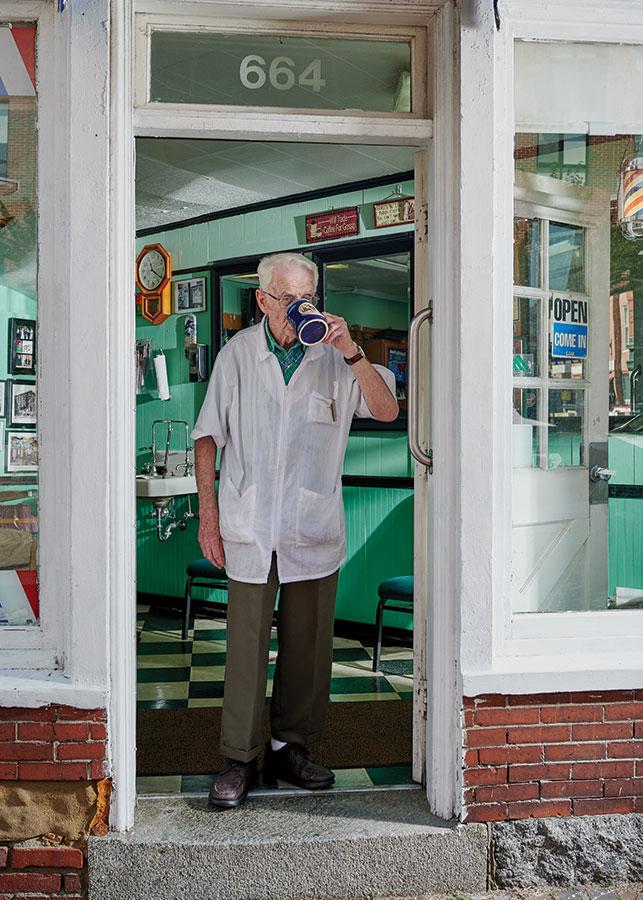 Senior Citizens Barber Shop