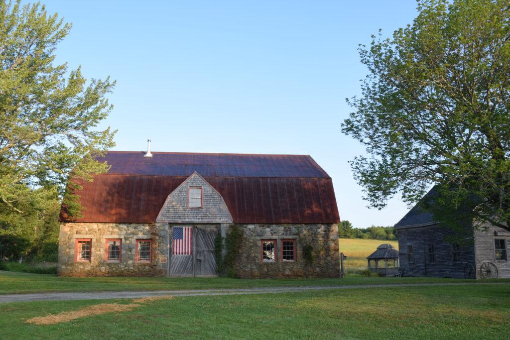 Stone Barn Farm, Bar Harbor, a Maine Coast Heritage Trust preserve