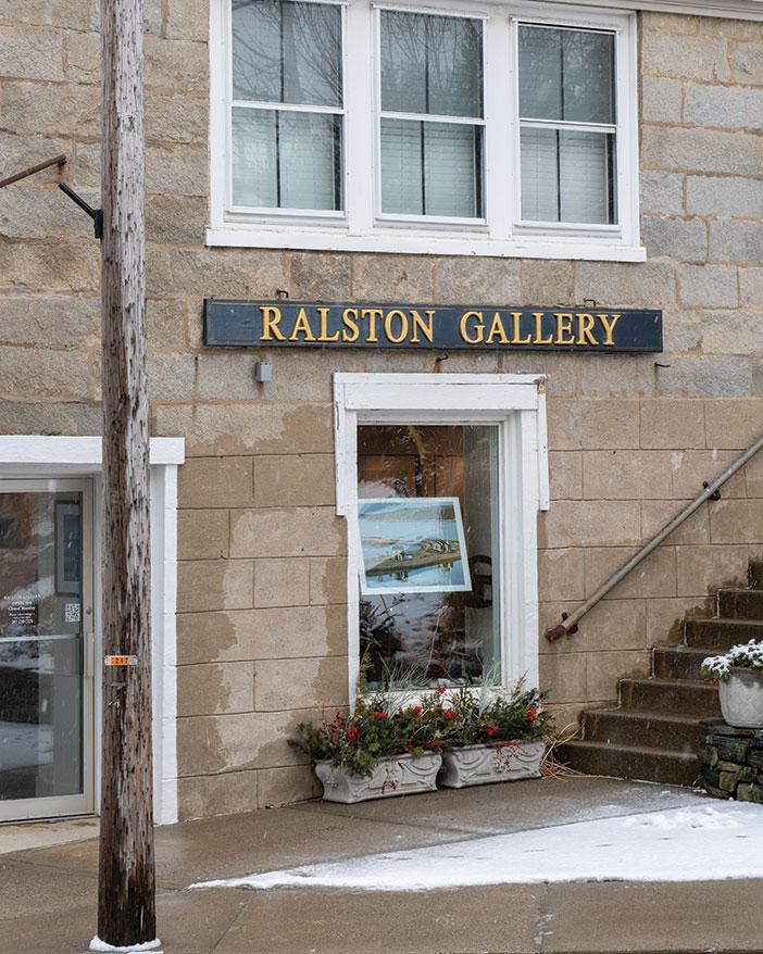 Fine-art photographer Peter Ralston's downtown gallery