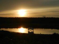 Reid State Park Sunset, photographed by Christine Summa