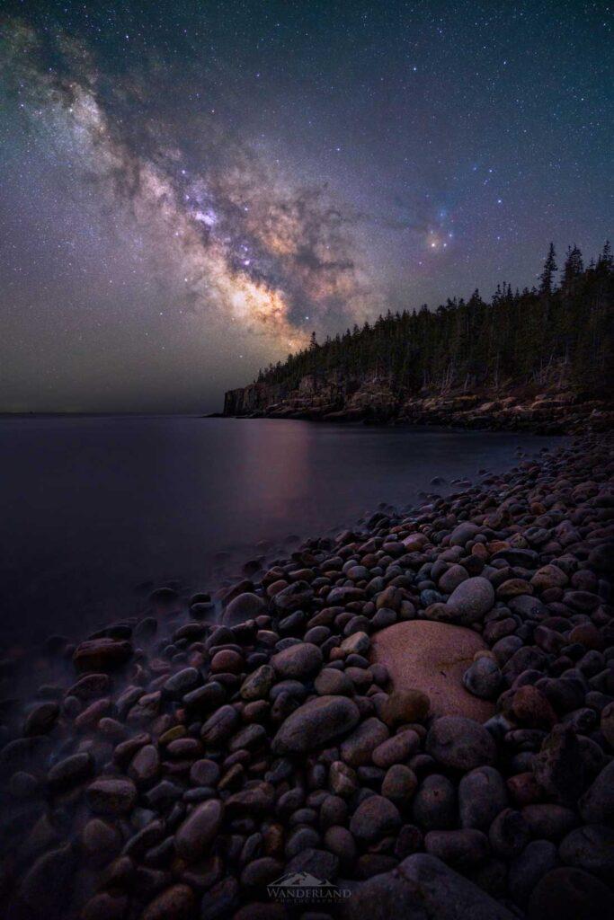 Boulder Beach at Night