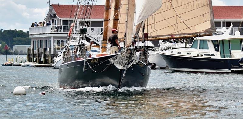 Schooner Alert in Boothbay Harbor