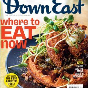 Down East magazine, June 2021