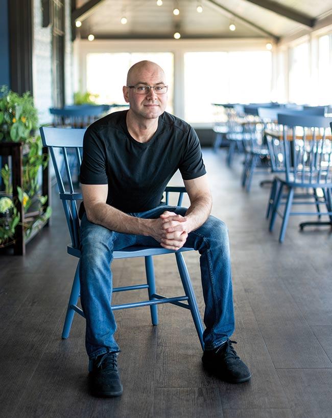 chef Ed Colburn of Water Street Kitchen & Bar