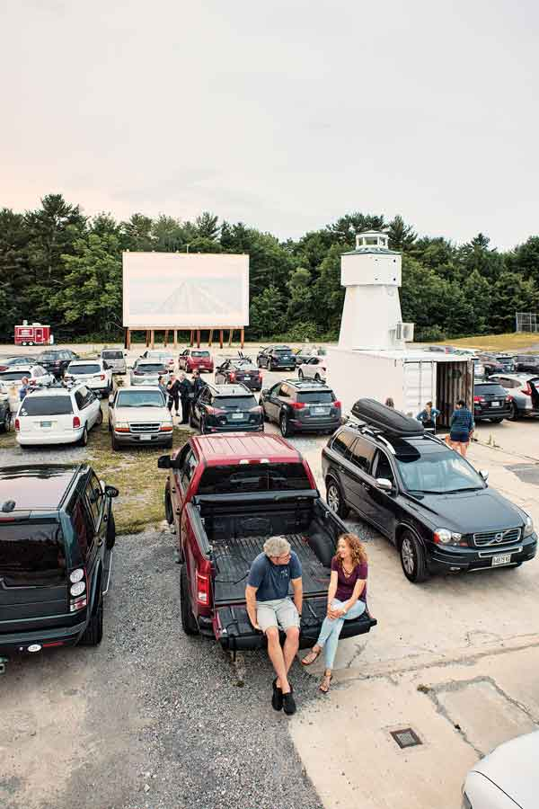 The Shotwell Drive-in is located on the vacant former site of an elementary school.