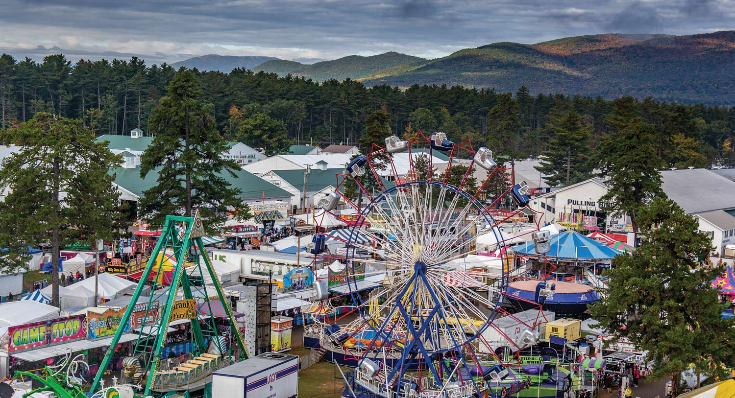The Fryeburg Fair is one of several Maine fall festivals returning to in-person events in 2021