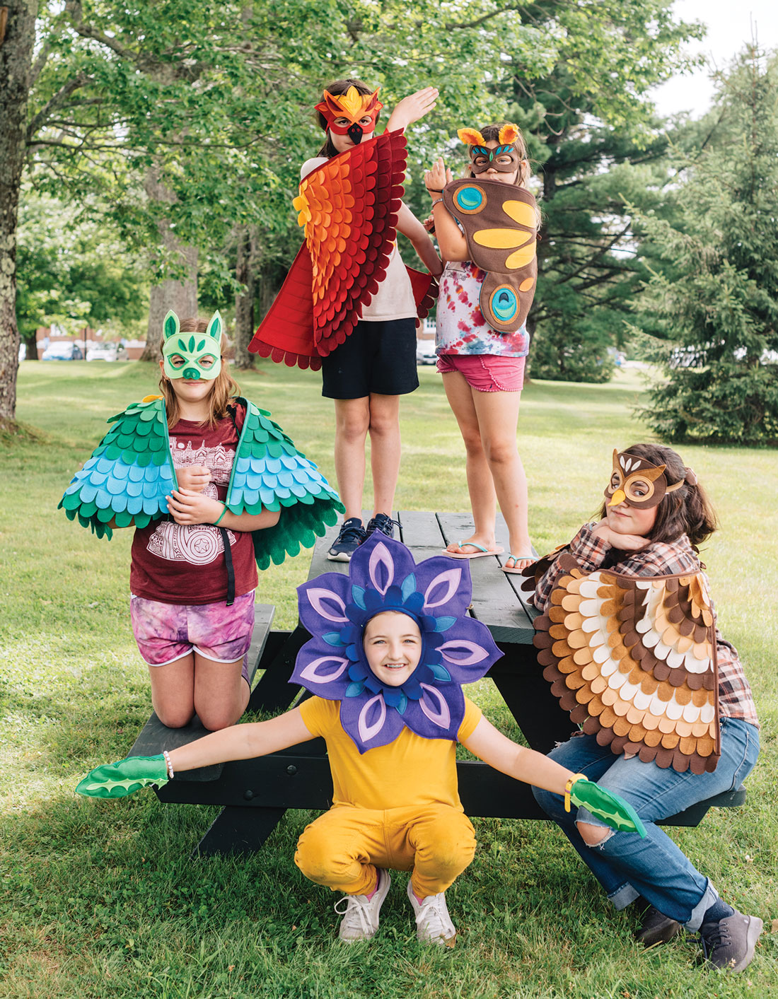 These Maine-made kids' costumes from Tree and Vine are perfect for Halloween